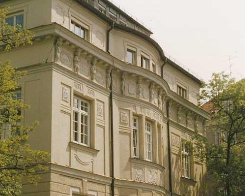 Verwaltungsgebäude in Schwabing